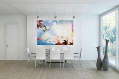 Öl Gemälde 'Blank Mind' 180x120cm
