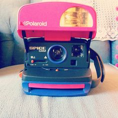 Spice Girl Polaroid Camera Spice Cam by redfoxdiy on Etsy, $80.00. NEEED THIS.