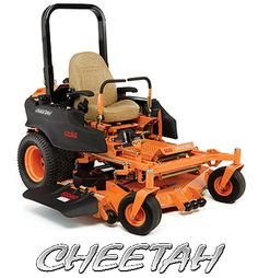 "Scag Cheetah -- ""By default, this very fast mower comes with a 61-inch mower deck that can produce football-field results immediately after purchase... this large mowing deck will be enough for the vast majority of buyers...""   -Shank's Lawn Eqmt"