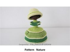 Fia, fiocco di cotone: pattern Nature