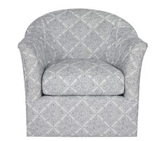 Vivian Swivel Chair - This item may be custom ordered in over 400 covers! Exclusive to Boston Interiors and stocked with
