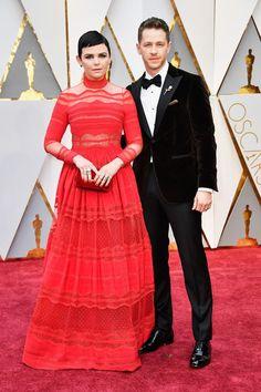 Ginnifer Goodwin & Josh Dallas at The 89th Academy Awards on February 26, 2017