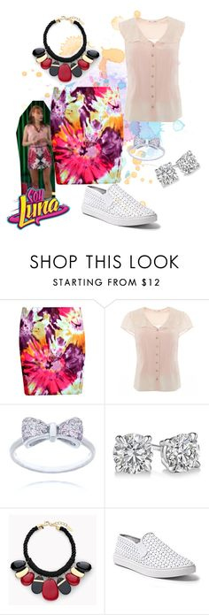 soy luna by maria-cmxiv on Polyvore featuring moda, Boohoo, Steve Madden and Chico's