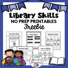 Browse over 110 educational resources created by Little Library Learners in the official Teachers Pay Teachers store. Library Plan, Library Lesson Plans, Library Themes, Reading Library, Library Activities, Little Library, Free Library, Library Ideas, Library Science