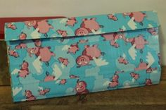Duct Tape Wallet (Clutch) - Flying Pigs, $18.    We are also on Etsy at:  www.junorduck.etsy.com.