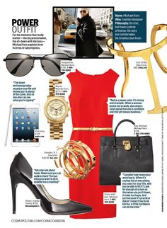 Cute Clothes For Work: Michael Kors explains how to dress to fully impress. #career #fashion