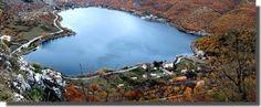 #Scanno: lago a forma di #cuore, #Abruzzo
