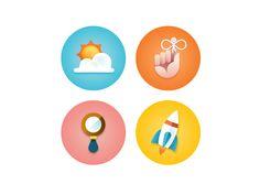Illustrative Icon Set - Eric R. Mortensen - dribbble.com