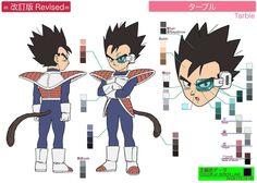 Dragon Ball Ossu! Kaette Kita Son Gokū to Nakama-tachi - Model Sheet 046 | Flickr - Photo Sharing!