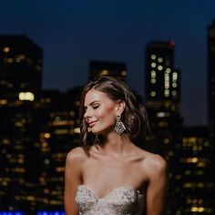Love this look! Find more looks we love at mghairandmakeup.com! #mghm #hair #makeup #mgbeauty Bridal Looks, Bridal Make Up, Bridal Hair, Nyc Wedding Photographer, Heartburn, City Lights, Wedding Trends, South Africa, Burns