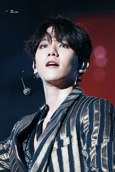 My Only Love, My One And Only, Baekhyun, Smile Everyday, Exo Members, My King, Taemin, I Smile, Black Hair