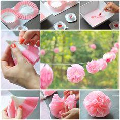 How to DIY Beautiful Coffee Filter Flowers | iCreativeIdeas.com Follow Us on Facebook --> https://www.facebook.com/icreativeideas