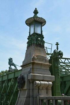 Schemerl-Brücke Otto Wagner, Vienna