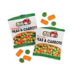 Peas & Carrots Easter Candy Fun Packs - OrientalTrading.com