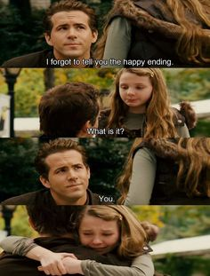 the makes-me-cry part's from Definitely, Maybe movie :)