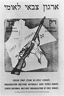 Irgun Propaganda poster 1921, intentions clear- Wikipedia, the free encyclopedia