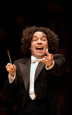 Gustavo Dudamel: passionate conductor and serving as director of both the Los Angeles philharmonic orchestra and the Simon Bolivar symphony orchestra of Venezuela - photo Chris Lee - Berkshire Review
