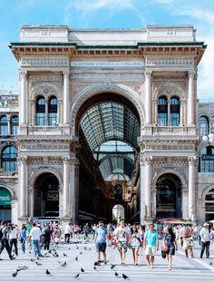 Galleria Vittorio Emanuele II. Milano, Italy  | 10 Cose Da Fare a Milano in 24 Ore.