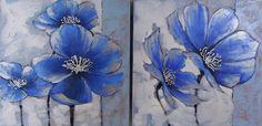 geschilderde bloemen - Google zoeken