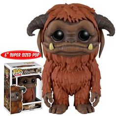 """It's the Pop! Movies - Labyrinth - 6"""" Super Sized Pop! Ludo. Be careful what you…"""