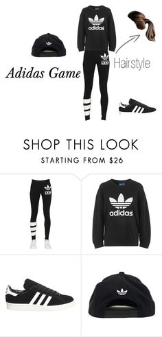 """Adidas All The Way"" by ahraya on Polyvore featuring adidas Originals and adidas"