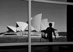 Opera House reflection, Sydney, Australia by tom.fcb73, via Flickr