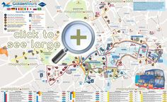 golden tours hop hop off bus stops maps london top tourist attractions map