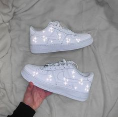 Nike Shoes OFF! ►► Nike Air Force 1 with Reflective Sparkling pattern ✨