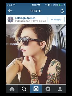 this is my perfect undercut that I NEED o do when my top layers are longer.