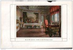 Aus der Villa Falconieri - Druck, entnommen aus Velhagen und Klasings…