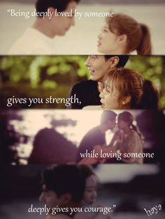 """It's Okay, It's Love"" ""It's Okay, That's Love"" Gong Hyo Jin Jo In-Sung #love"