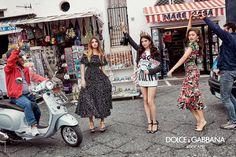 Dolce & Gabbana taps Millennials Thylane Blondeau, Sonia Ben Ammar and Zendaya for spring 2017 campaign