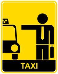 Taxi - sign, symbol