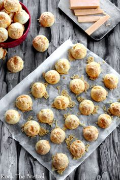 gougere-cheddar36 Cheddar, Rock The Bretzel, 20 Min, Cereal, Muffin, Toast, Breakfast, Recipes, Mini