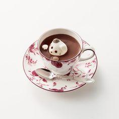 「にゃんココア」日本橋三越本店で限定発売 / Cat Hot Chocolate! | Fashionsnap.com