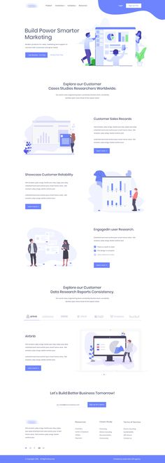 6716 Best Inspiring Landing Page Designs 2019 images