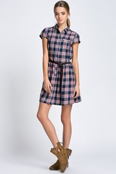 Bayan Elbise 130201-18877 Mavi | Trendyol