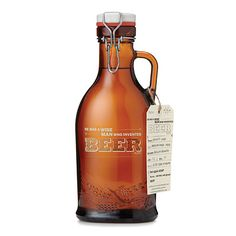 Look what I found at UncommonGoods: wise beer growler... for $45 #uncommongoods @Sabrina Saunders