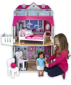 Sophias TwoStory Doll House with Balcony 18Inch *** For more information, visit image link.