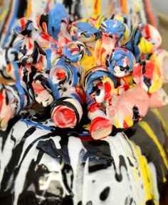 roses Christina Roos My Friend, Friends, Sprinkles, Roses, Clay, Ceramics, Create, How To Make, Amigos