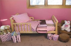 Trend Lab Maya 4 Piece Toddler Bedding Set $65.25