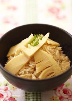 bamboo shoots rice //Manbo