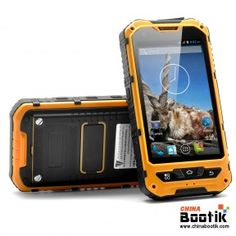 """Rugged Android 4.2 Phone """"Markhor"""" - Dual Core CPU, 5MP Camera, Shockproof, IP67 Dust Proof + Waterproof Rating #ruggedphone"""