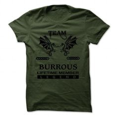 Cool BURROUS Hoodie, Team BURROUS Lifetime Member