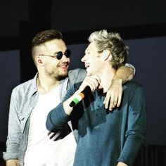 Niall & Liam on stage in Denmark !