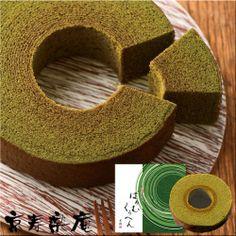 京都 京寿楽庵|宇治抹茶バウム  舞|商品イメージ|ミームのスイーツギフト