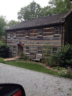 Brown Co Indiana - repurposed log houses with the original hand hewn logs. | by look in the past