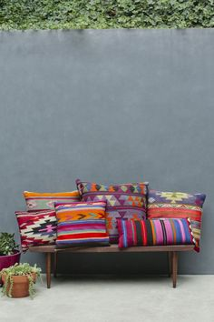 COLOURFUL CUSHION & UPHOLSTERED FURNITURE PIECES | THE STYLE FILES