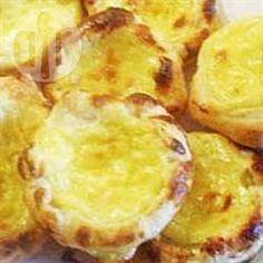 Pasteis de nata (Portuguese custard tarts) @ allrecipes.co.uk