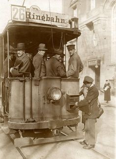 Berlin strassenbahn brievenbus  1920